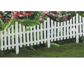Picket Fence Ordered New.