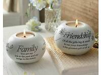 Family and friends tea light