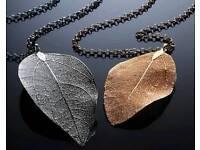 Real Leaf Pendant