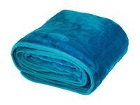 BRAND NEW Luxury Small Throw TEAL COLOUR