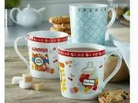 Set of 3 mugs