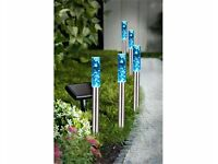 Set of 5 Bubble Solar Lights