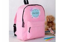 PERSONALISED Childrens Backpacks