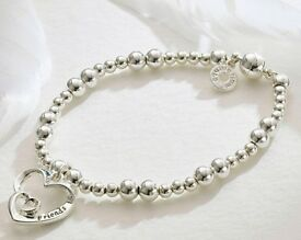 Double Heart Friends Bracelet
