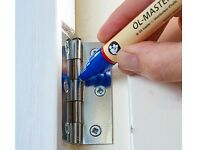 Oil Master Pen - For squeaky doors, loosens hinges