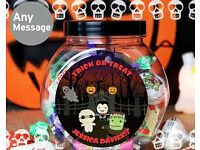 Personalised Halloween Sweet Jar (250g)