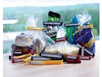 20 Food Bag Clips With Labels