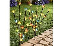 Set Of 2 Blossom Branch Lights