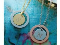 Silver & Rose Gold Necklace