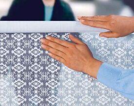 Lace-Effect Window Shield