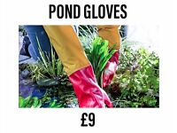 Pond Gloves, the perfect keep clean idea!