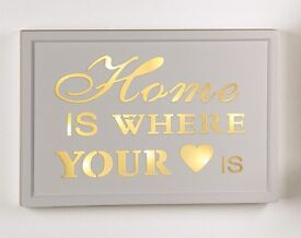 Home Is Where Your Heart Is Message