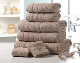 Luxury Cotton Towel Bale 5 Colours Avaliable