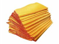 Pack of 10 Duster Cloths (L28 x W31cm) (NEW)
