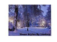 LED Canvas Winter