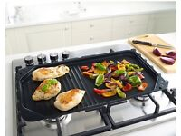 Grill and Griddle Plate