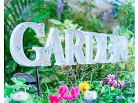 Garden Stake Sign