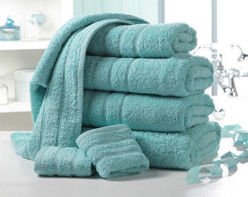 Aqua Egyptian Luxury Cotton Towel Bale