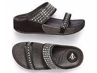 Black Dunlop Active Sandal *New*