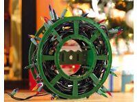 Xmas lights storage wheel