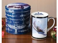 RAF Fine China Mug & Tin