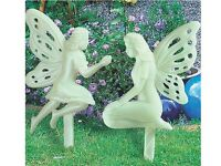 Set of 2 Glowing Fairy Stakes (NEW)