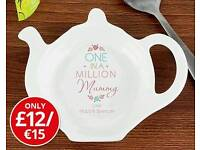 Personalised One in a Million Teabag Rest