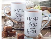 Couple personalised mug