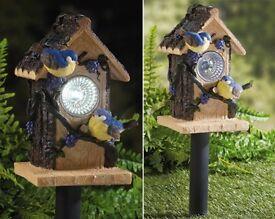 solar bird house