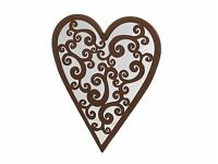 Weather Resistant Heart Mirror (NEW)