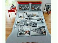 It's a dogs life bedding set