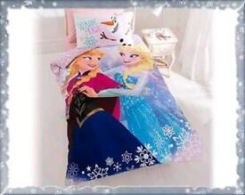 Frozen duvet set single new