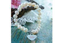 New Freshwater Pearl Name Bracelet