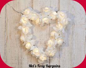 Beautiful brand new rose heart.