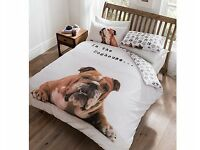 Barry Bulldog Duvet Set