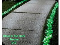 Glow in the Dark Decorative Stones