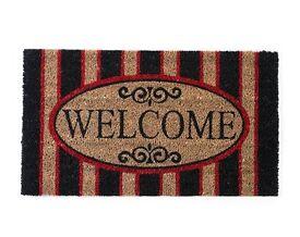 Welcome Coir Doormat (40 x 70cm) (NEW)
