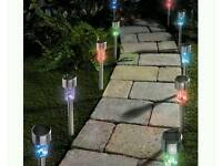 Colour changing path lights