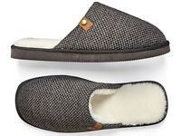 MENS MULE SLIPPER SIZE 7 8 9 10 11 12
