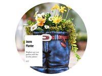 Jeans Novelty Planter