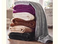 Large Luxury Throws in various colours, Brand New