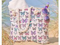 NEW Butterfly Beach Bag