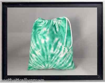 Gymnastics Leotard Grip Bags / Foam Green Tie Dye Gymnast Birthday Goody Bag