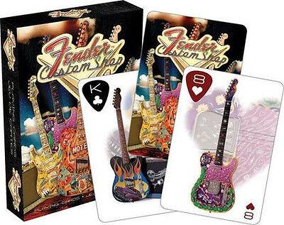 FENDER CUSTOM GUITAR SHOP - PLAYING CARD DECK - 52 CARDS NEW