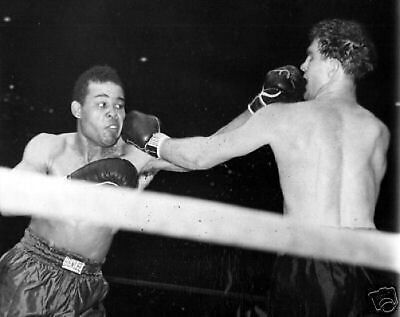 Joe Louis Billy Conn Fight Action Boxing 10x8 Photo