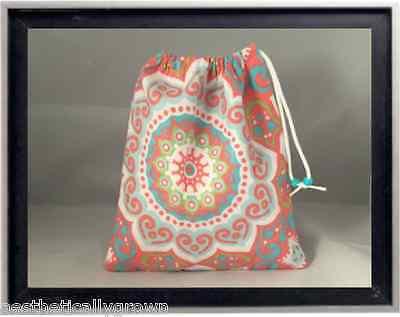 Gymnastics Leotard Grip Bags / Orange Mosaic Gymnast Birthday Goody Bag