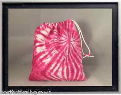 Gymnastics Leotard Grip Bags / Hot Pink Tie Dye Gymnast Birthday Goody Bag