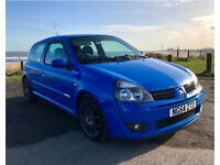 Clio Sport 182 Cup Racing Blue 2.0 16v