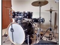 Mapex Horizon II Drumkit incl. Cymbals, Drum Stool and Cymbal Bag