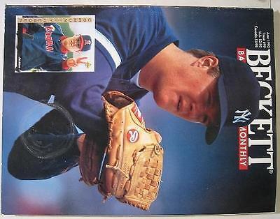 June 1993~Beckett Baseball Magazine~Jim Abbott